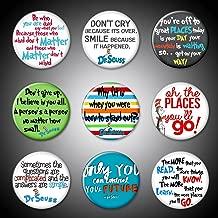 Dr. Seuss Pins 1.75