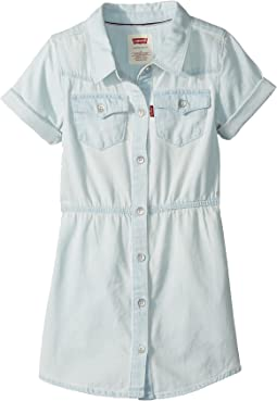 Short Sleeve Western Dress (Big Kids)