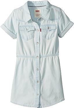 Levi's® Kids Short Sleeve Western Dress (Big Kids)