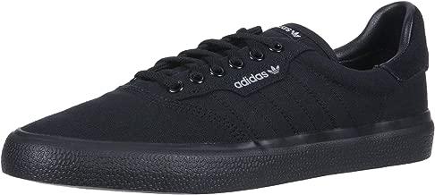 adidas Originals 3MC Skate Shoe, Black/Grey, 4.5 M US