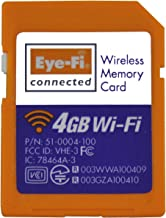 Eye-Fi Connect X2 4 GB Class 6 SDHC SD Flash Memory Card, discontinued by manufacturer, works only as SD card