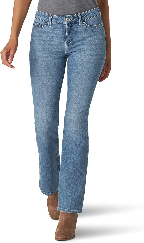 Lee Women's Misses Secretly Shapes Regular Fit Bootcut Jean