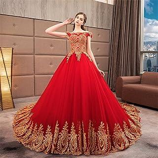 attrayant et durable prix de la rue grande remise Robe mariee dentelle rouge – Robes élégantes 2019