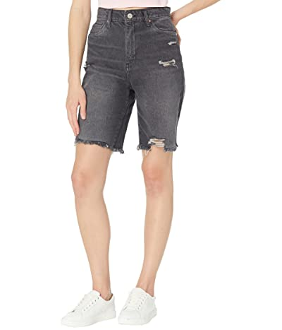 Blank NYC Sustainable The Dean Long Shorts w/ Rips in It