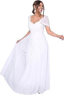 buy popular a58a2 c7c15 Suchergebnis auf Amazon.de für: weißes kleid lang: Bekleidung