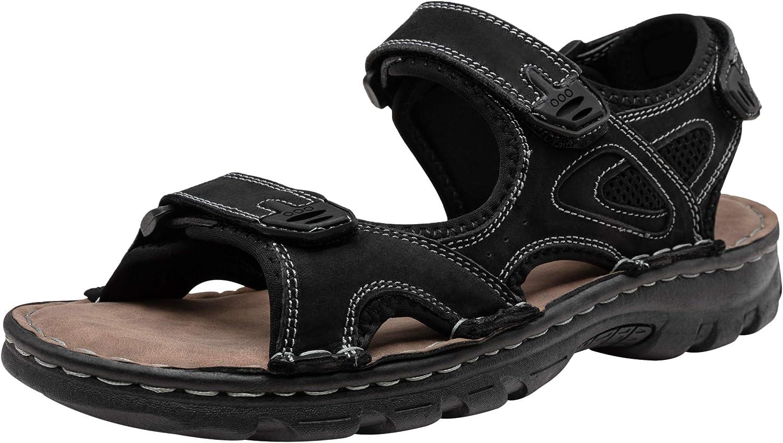 Jousen Men's Sandals Leather Open Beach Popular popular Sandal Toe Max 65% OFF Outdoor Summe
