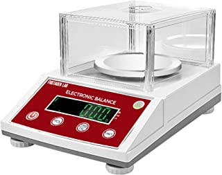 American Fristaden Lab Analytical Balance 1000g x 0.01g   Digital Scale for Grams, Ounces, Pounds and Carats   Precision Electronic 01 Gram Scale for Laboratory, Jewelry and Businesses   1YR Warranty