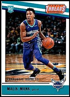 2017-18 Panini Threads #94 Malik Monk Rookie NM-MT Hornets