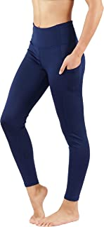 Fit Division Women's Yoga Pants with Deep Side Pockets. Power Flex Dry-Fit Workout Leggings Capri and Full Length