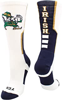 TCK University of Notre Dame Fighting Irish Perimeter Crew Socks