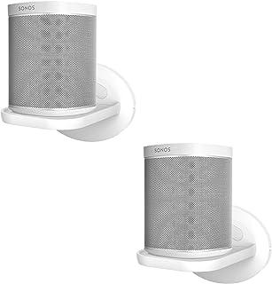 SPORTLINK Wall Mount Shelf for Sonos One (Gen 2), Sonos Play 1, Google Home Mini/nest Mini/Nest WiFi/Eco Dot Security Came...