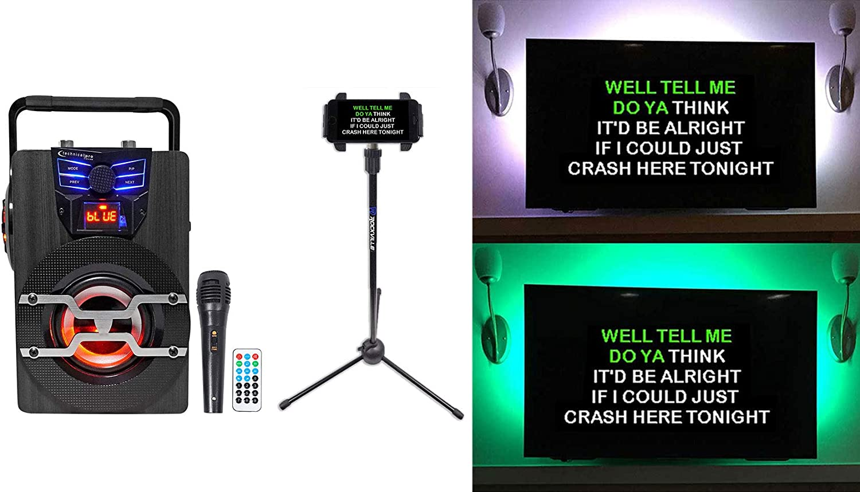 Technical Pro Tulsa Mall WASP420 Rechargeable Sys trust Machine Karaoke Bluetooth