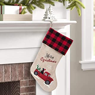 Best red truck christmas stocking Reviews