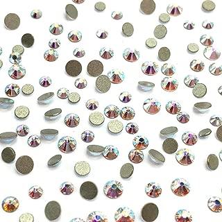 Crystal AB (001 AB) 2058 Swarovski Nail Art Tiny Small Mixed Sizes ss5 ss7 ss9 Flatbacks No Hotfix Rhinestones