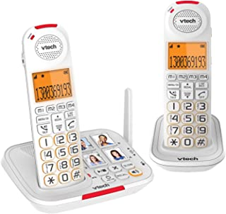 VTech CLS17451 Careline Twin Dect6.0 Cordless Phone White