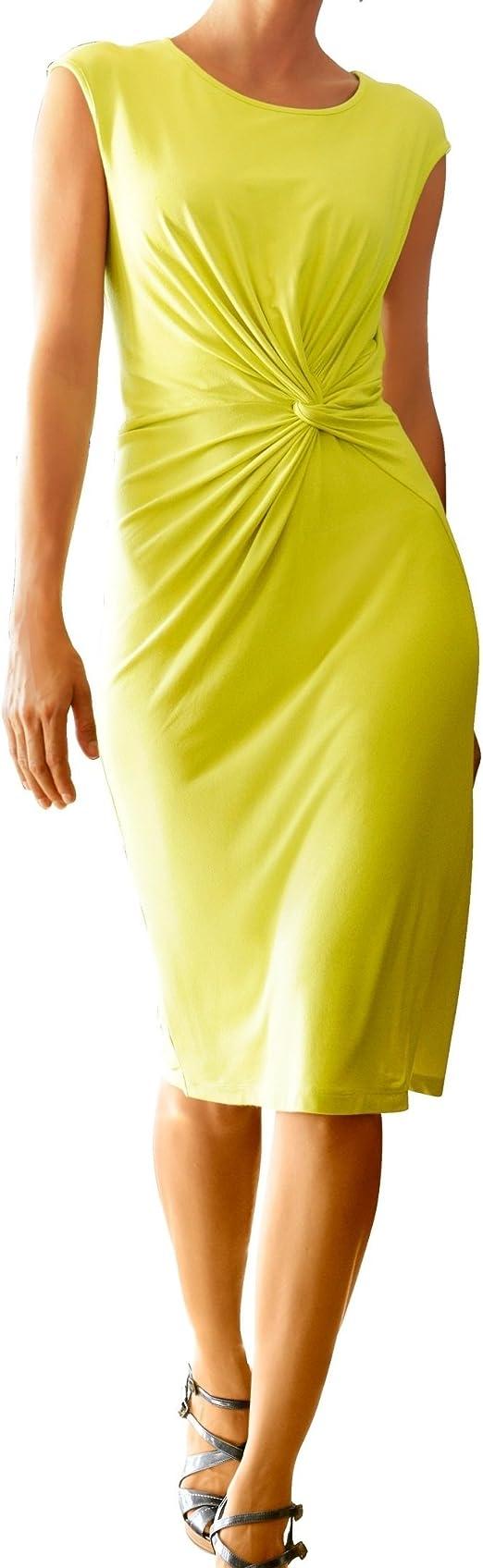 av Marken Jersey Kleid limonen grün Gr. 9, Gr. 9, Gr. 9 ...