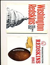 1962 Washington Redskins Press Media Guide (only listed)