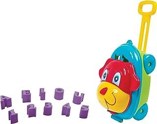 Baú Activity Dog Bs Toys Azul