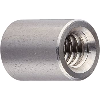 0.375 OD Pack of 5 0.375 OD 1.125 Length Small Parts SS6943-0832-1.125-00 #8-32 Screw Size Round Standoff Stainless Steel 1.125 Length, Female