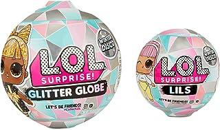 Winter Disco L.O.L Surprise Set of 2 - Glitter Globe (8 Surprises) and Lils (5 Surprises)