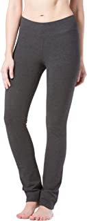 Women's Ecofabric Straight Leg Yoga Pant with Back Pockets