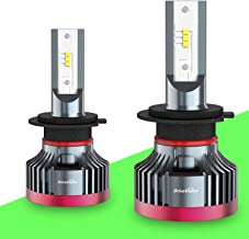 DriveVision H7 LED Headlight Bulb Conversion Kit, 6000 Lumens 6000K Xenon-White, Superbright DX3000 Series – 2 Year Warranty