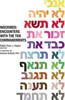 Inscribed: Encounters with the Ten Commandments (English Edi