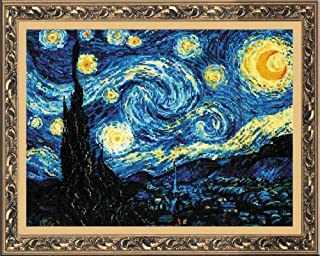 RIOLIS 1088 - Starry Night After Van Gogh's Painting - Counted Cross Stitch 15.75