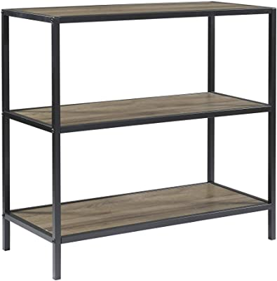 OSP Home Furnishings Braydon Bookcase, Grey Oak