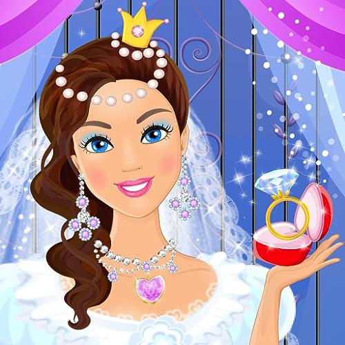 Boda Princesas Juego Vestir