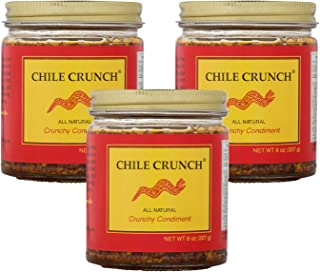 Chile Crunch - A Crunchy All Natural Spicy Condiment (Original) - 3 Pack