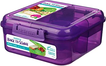 Sistema Food Container, 1.25L, Back to School, with Container for Fruit and Yogurt , 2725606207643