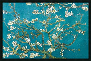 Framed Wall Art Print Almond Branches in Bloom, San Remy, Detail (ii) by Vincent Van Gogh 37.25 x 25.25