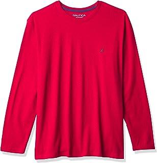 Nautica Men's J-Class Long Sleeve Sleep T-Shirt Pajama Top