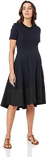 Ripe Maternity Women's Frankie Hi Low Dress, Navy/Black