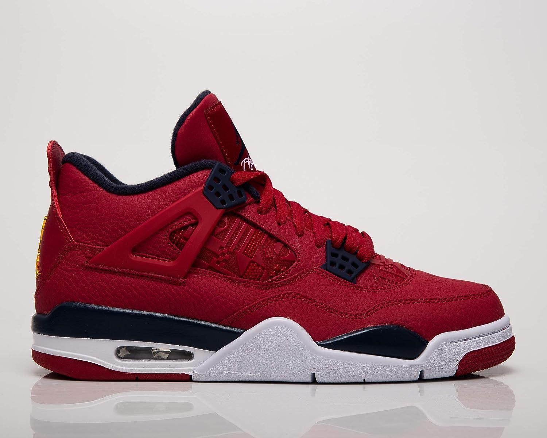 Nike Air Jordan 4 Retro Se Hommes Baskets CI1184-617, Gym Rouge ...