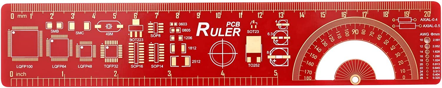 PCB Ruler Multi-Functional Measuring Tool Elec Opening large Fresno Mall release sale Engineering