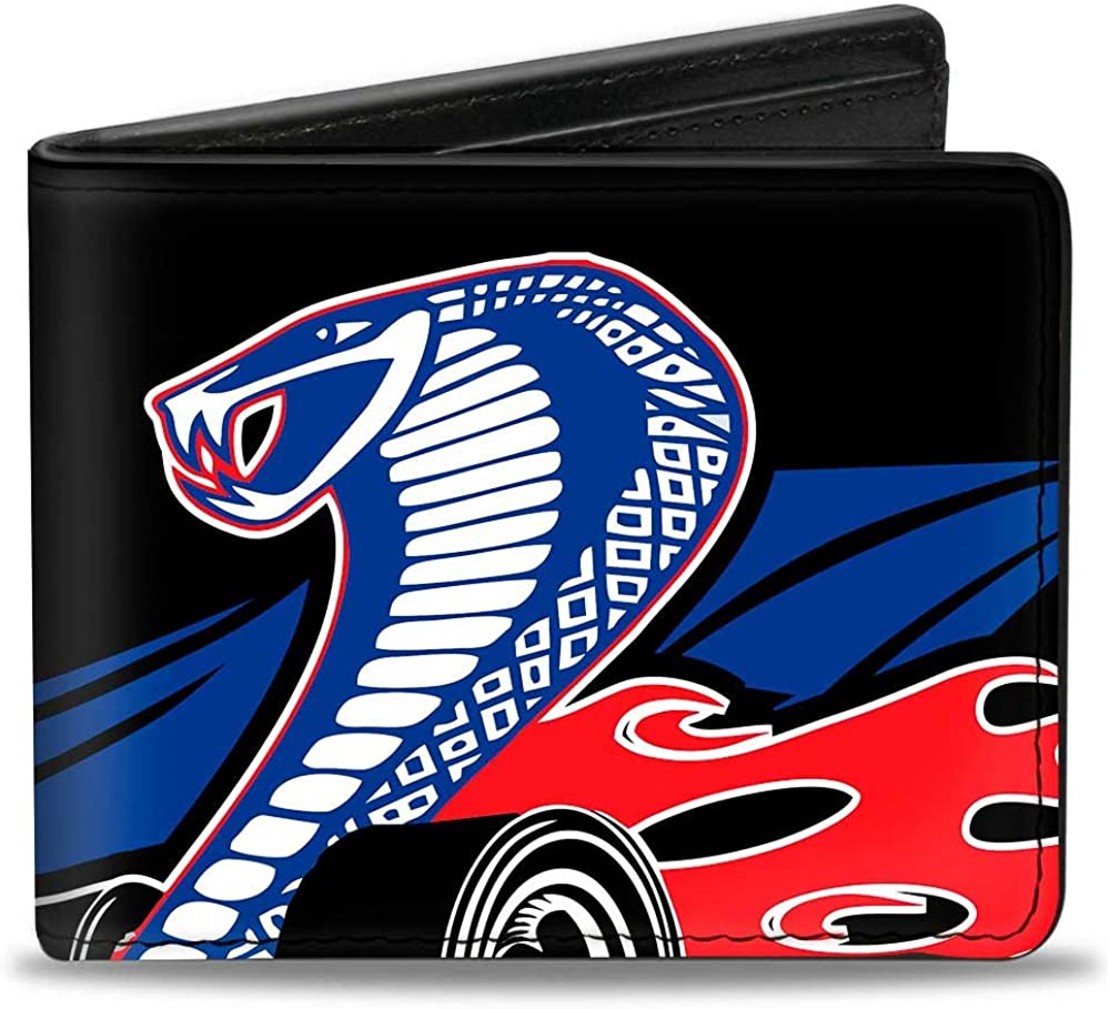 Buckle-Down Luxury Bifold Clearance SALE Limited time Wallet Mustang