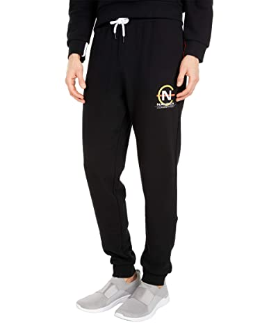 Nautica Competition Fleece Joggers (True Black) Men