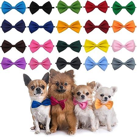 Wedding bow tie. Shiny Denim- Dog bow tie Pet Bow tie Slip on bow tie doggie and Cat bow tie