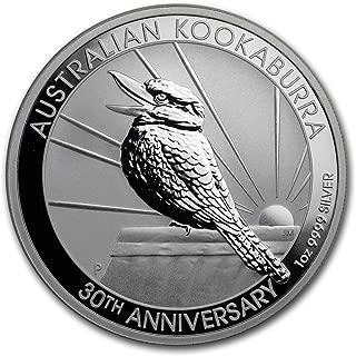 Rose Gold Coin Ruthenium Gold Australia 2018 1$ Australian Kookaburra 1oz Ag