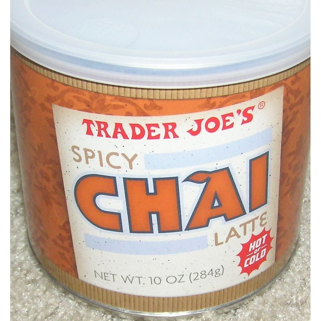 Trader Joe's Spicy Tampa Mall Chai Latte of depot 10 ounces 6 Pack