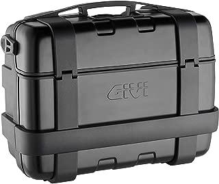 Givi Trekker Monokey 33 Liter Aluminum Top/Side Case (2 Cases) (Black)