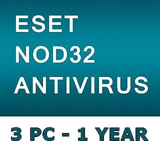 ESET NOD32 Antivirus 2019 / 3 PC's / 1 Year / Windows+Linux / GENUINE KEY ESET / One Code - One Buyer ! No CD only Code
