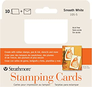 Strathmore Announcement Card white smooth with no deckle