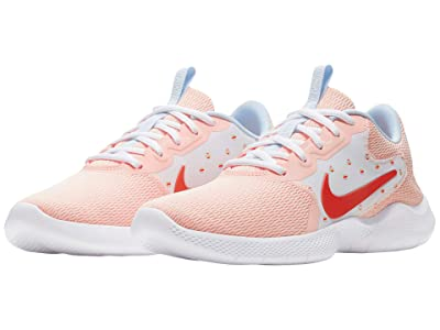 Nike Flex Experience Run 9 (Hydrogen Blue/Trace Red/Washed Coral) Women