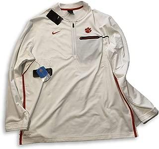 Nike Clemson Tigers Half-Zip Sideline Coaches Performance Jacket (X-Large)