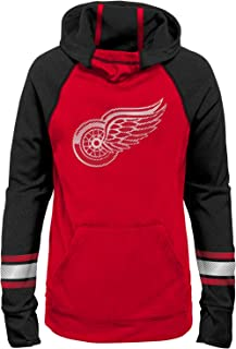 Outerstuff NHL Youth Girls Female Forward Funnel Neck Hoodie