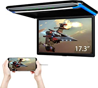 XTRONS® 17.3 Inch 16:9 Ultra-thin FHD Digital TFT Screen 1080P Video Car Overhead Player Roof Mounted Monitor HDMI Port 19...
