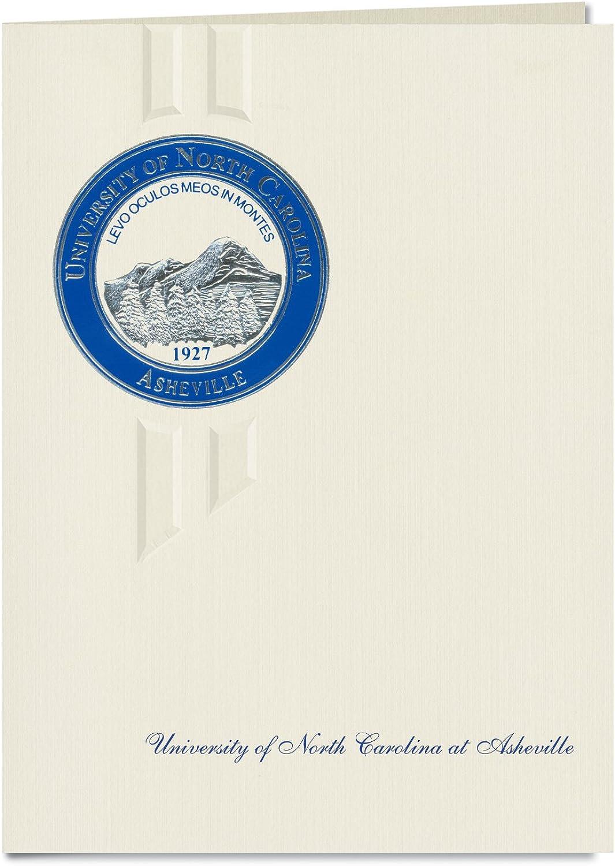 Signature Ankündigungen University of North Carolina AT Asheville Ankündigungen, eleganten eleganten eleganten Stil, Elite Pack 20 mit u. von North carolina-asheville Dichtung Folie B0793FCLB7  | Ausgezeichnet (in) Qualität  f84fdf